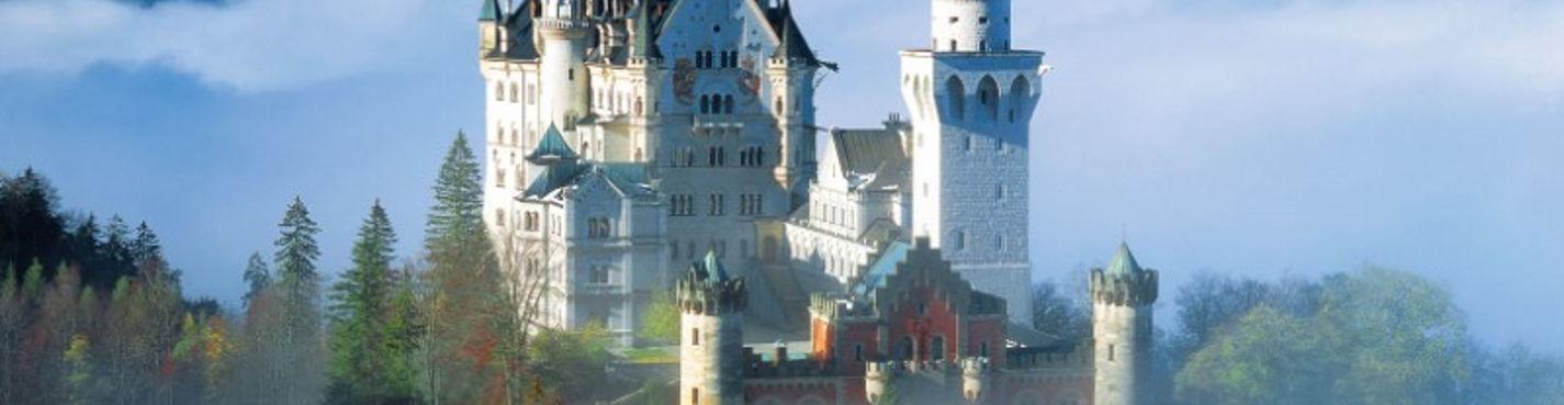 Мюнхен + замки Баварии из Карловых Вар