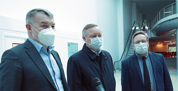 «Русская медиагруппа» стала партнером временного госпиталя в Ленэкспо - Новости радио OnAir.ru