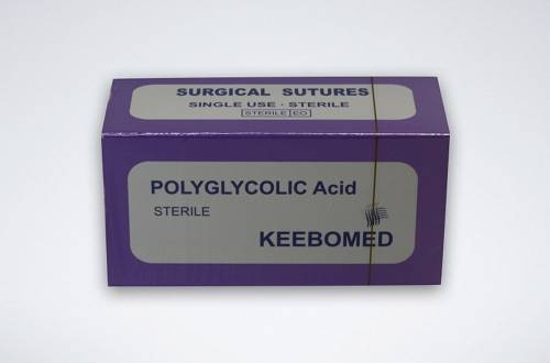 PGA Polyglycolic Acid Veterinary Surgical Sutures
