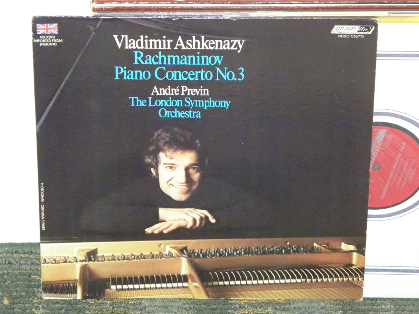 Askenazy/Previn/London Symphony - Rachmaninoff Concerto No. 3 London CS 6775 UK Decca 8W/5W matrix