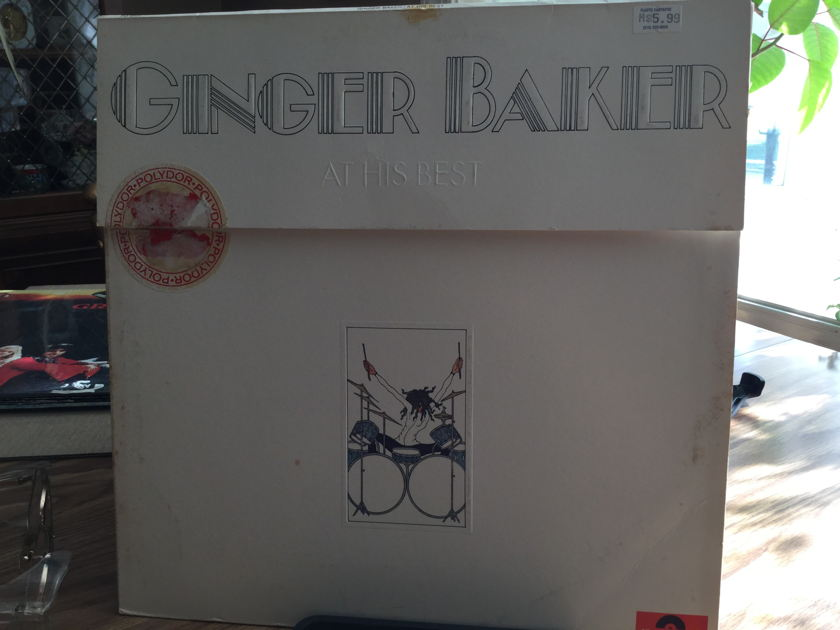 GINGER BAKER - At His Best 2 Record Set.WHITE LABLE PROMO