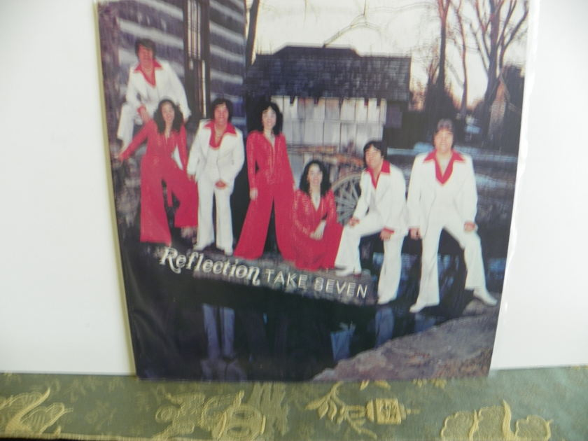 REFLECTION - TAKE FIVE Very Rare Signed by Members of the band