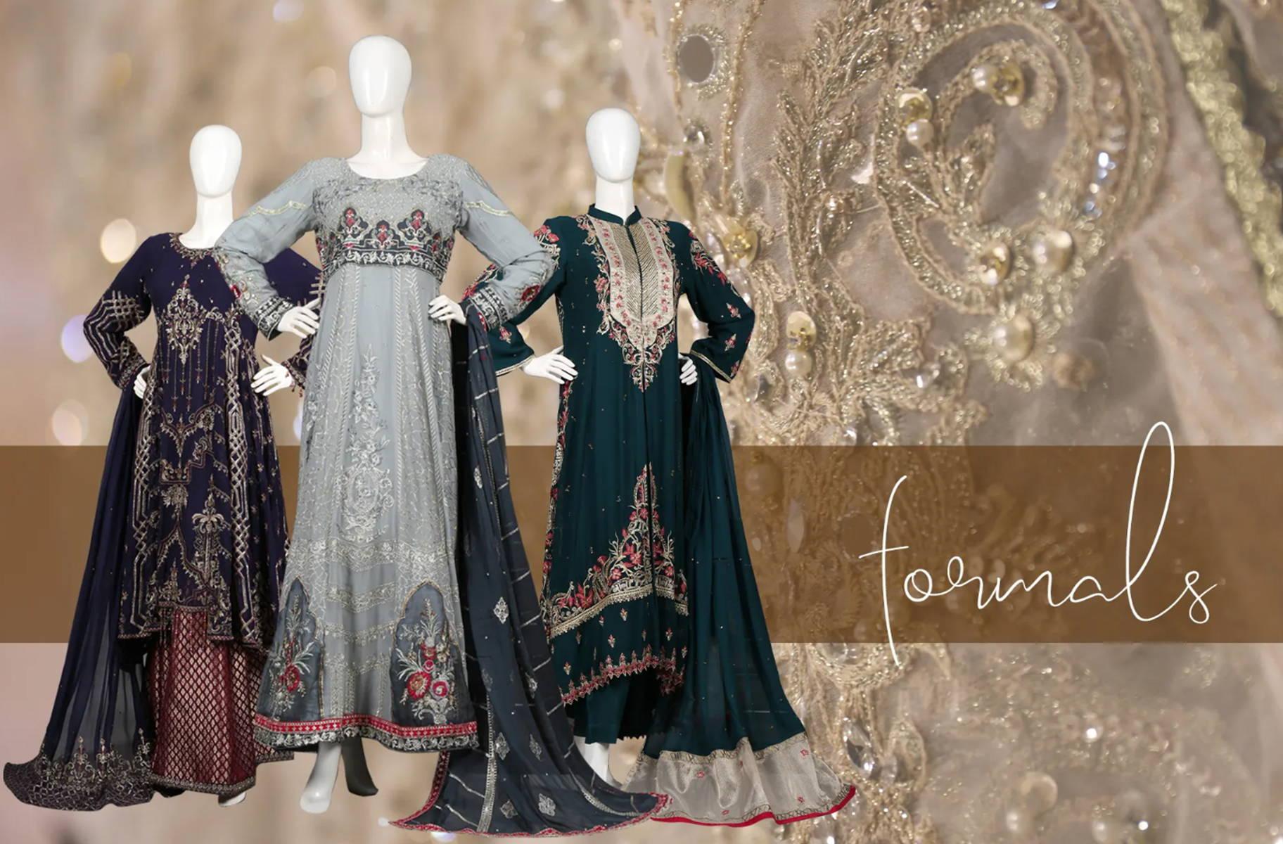 formal-wear luxury wear, Chiffon dresses