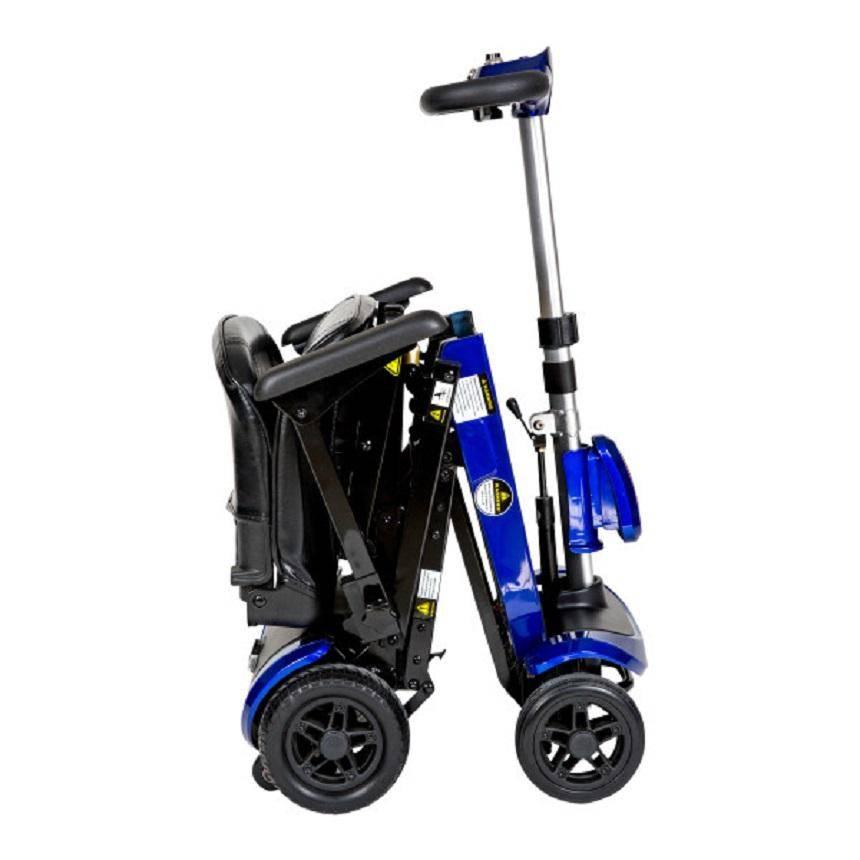 Drive Medical ZooMe Auto-Flex Folding Travel Scooter