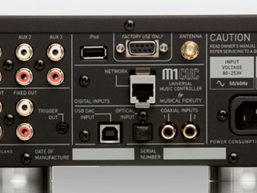 Musical Fidelity M1CLiC Music Controller; DAC; D/A ...