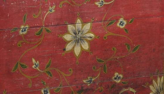 Painted Indian Chests. This antique painted Indian chest is glorious.