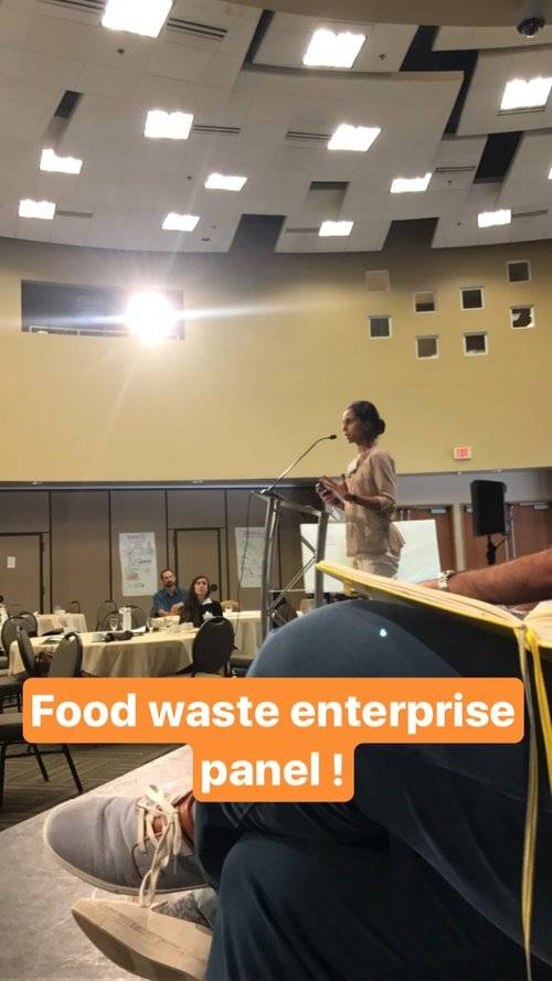enterprise panel of entrepreneurs: Food Waste Solutions Summit with San Diego Food System Alliancefood waste ent