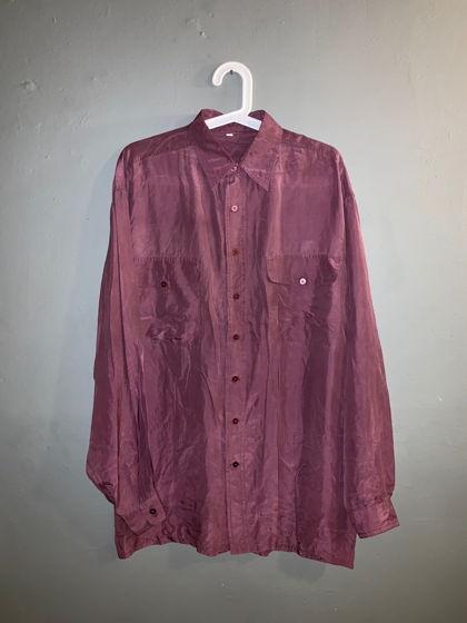 Мужская шёлковая рубашка