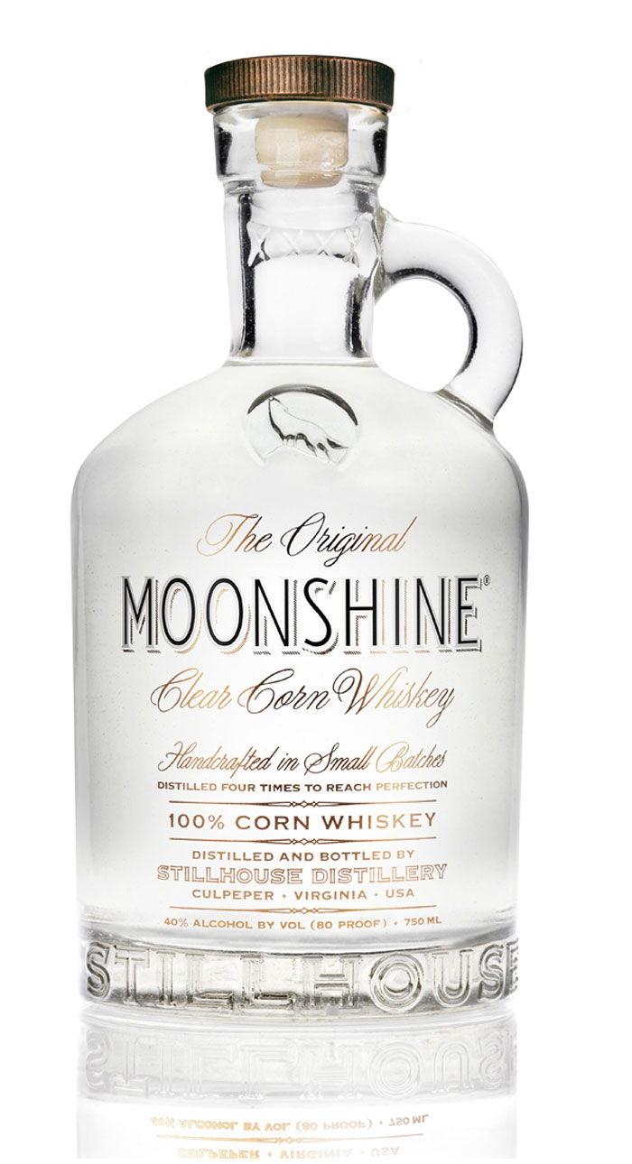 The Original Moonshine Dieline