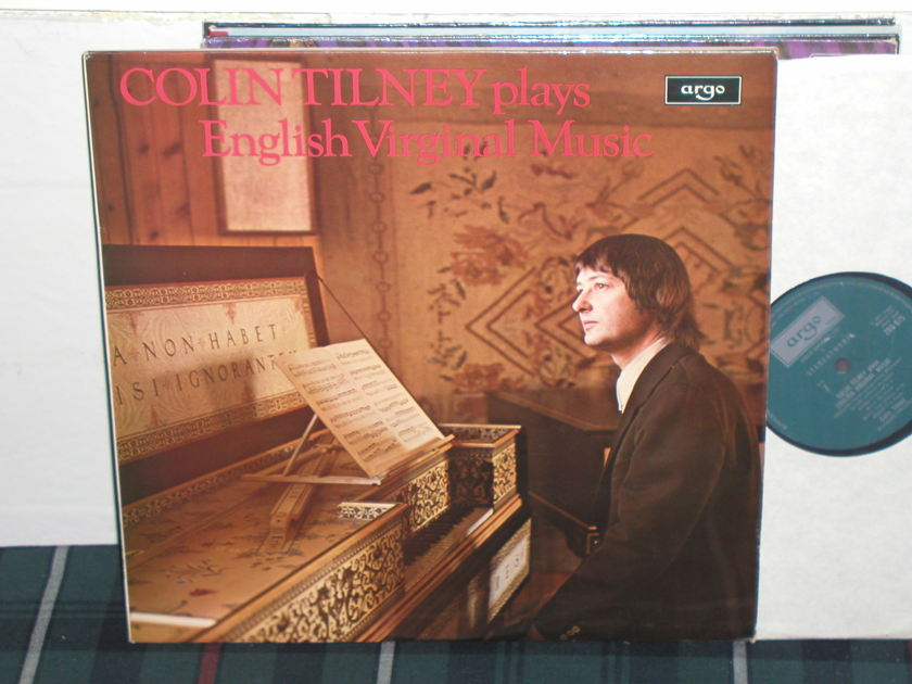 Colin Tilney - Byrd/Philips  LP UK Argo/Decca ZRG-675