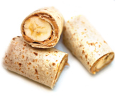 Banana Peanut Wraps Recipe