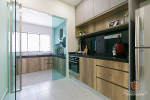 c-plus-design-contemporary-modern-scandinavian-malaysia-selangor-dry-kitchen-wet-kitchen-interior-design