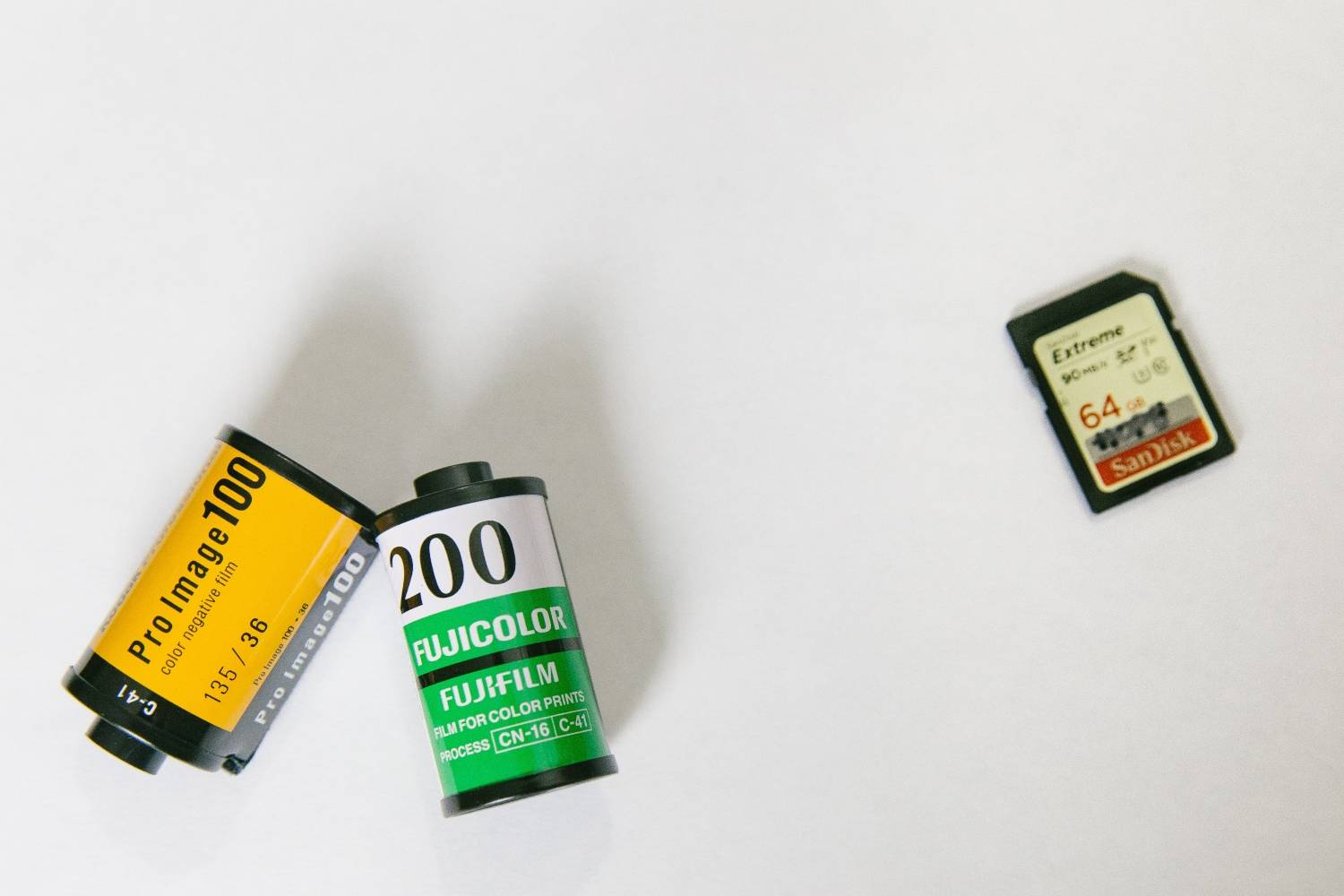 how many sd cards do i need to shoot a newborn photography