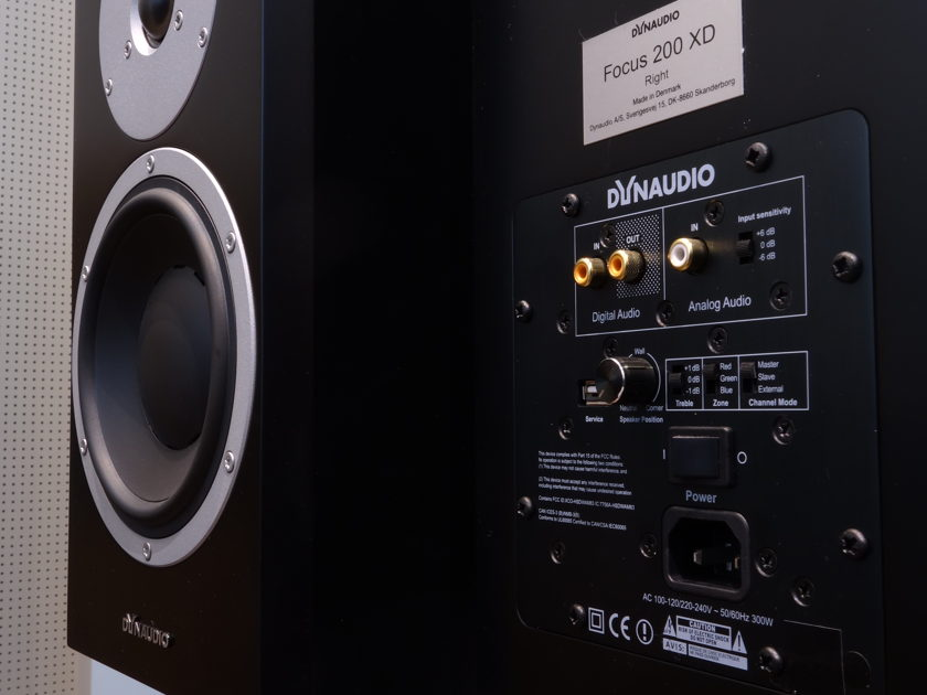 Dynaudio Focus 200 XD complete high-end system!