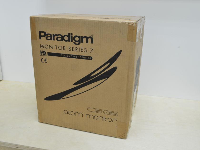 Paradigm Atom Monitor - Series 7 - Heritage Cherry Pair