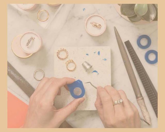 crafting bespoke jewellery in France