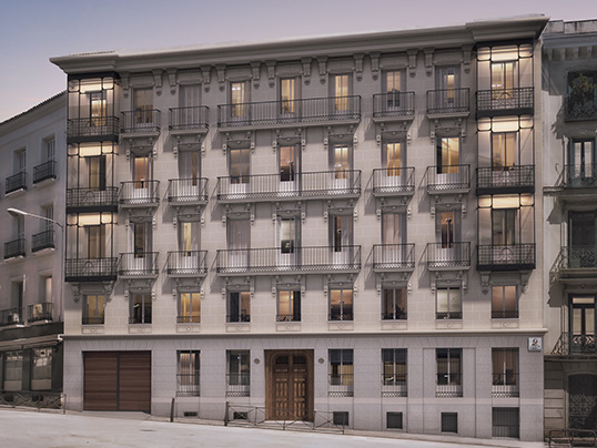 Hamburg - Blending classic architecture with high-end interiors and facilities, the new Zorrilla and Esquina Bécquer Residences are the pinnacle of luxury in Madrid.