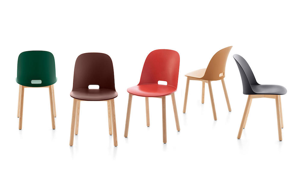 Emeco & Jasper Morrison Collaborate on Alfi Seating Collection