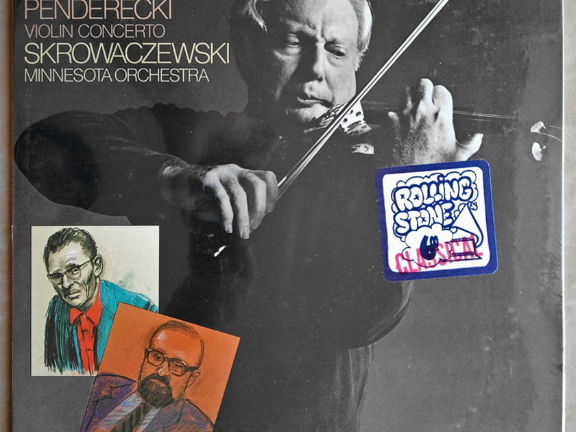 Sealed/Columbia/Stern/Penderecki - Violin Concerto (World Premiere Recording)