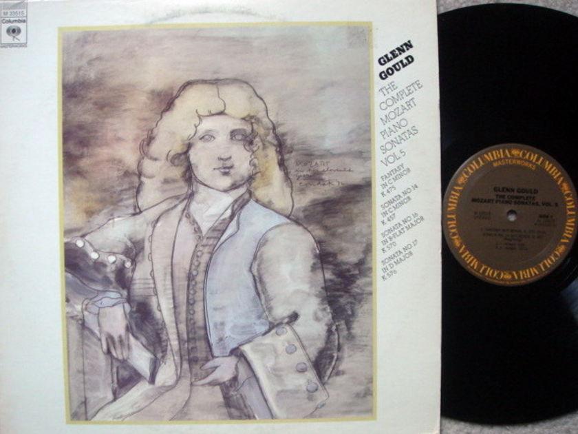 Columbia / GLENN GOULD, - Mozart Piano Sonatas Vol.5, NM!