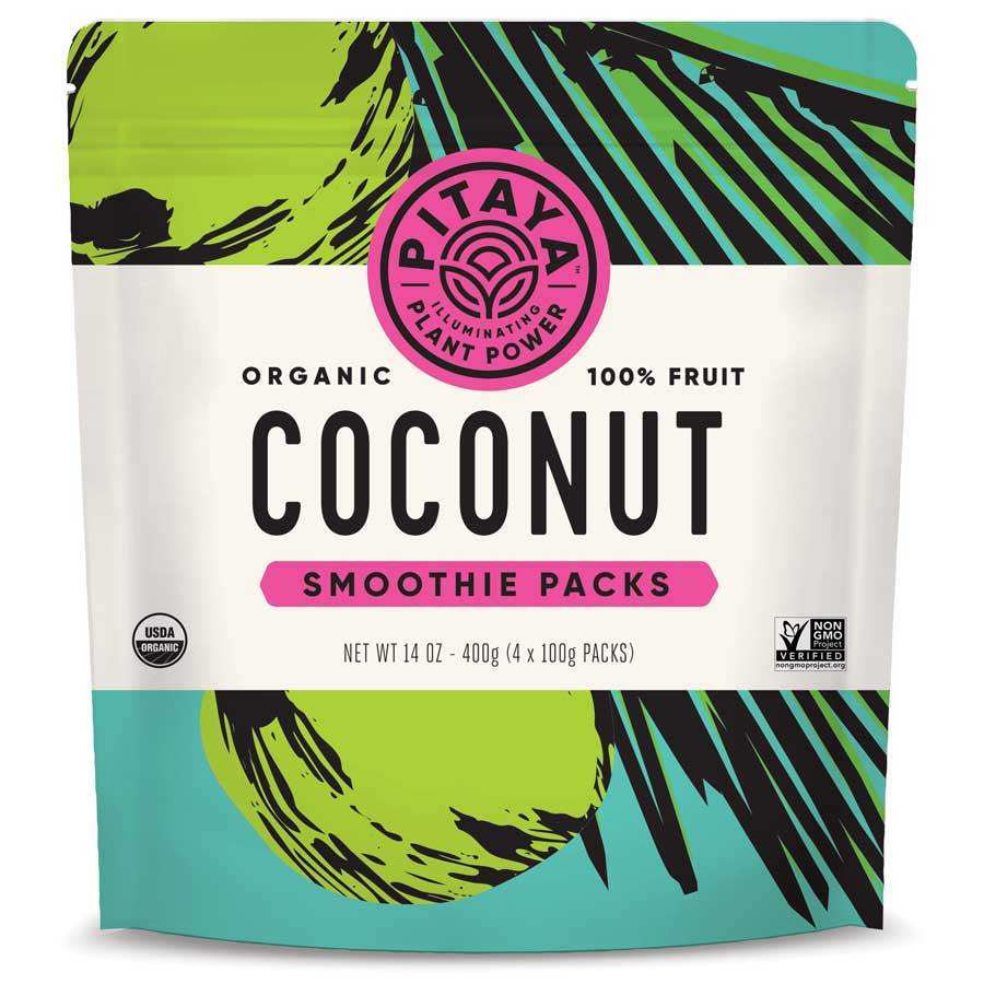 Pitaya Organic Coconut Smoothie Packs