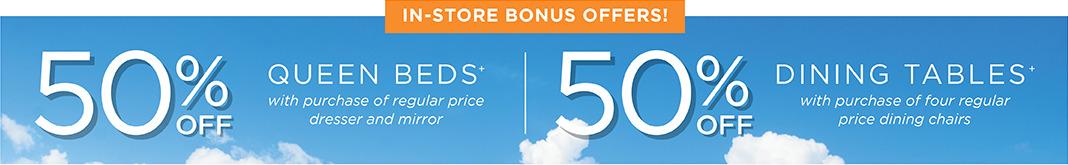In-Store Bonus Offers
