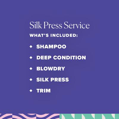 Silk Press service