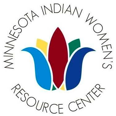 The logo for Minnesota Indian Women's Resource Center, our January 2018 Hero.