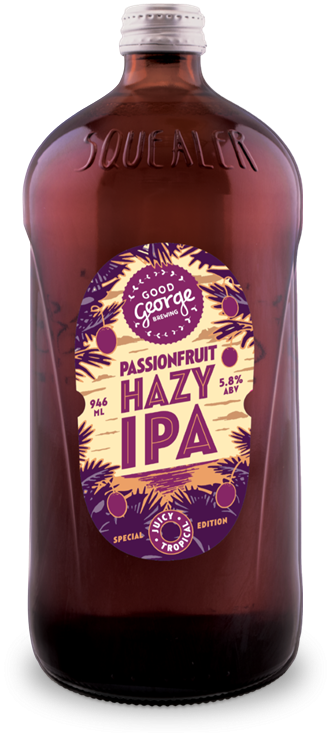Good George Passionfruit Hazy IPA
