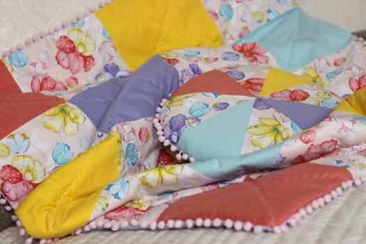 Одеяло и подушка-зефирка