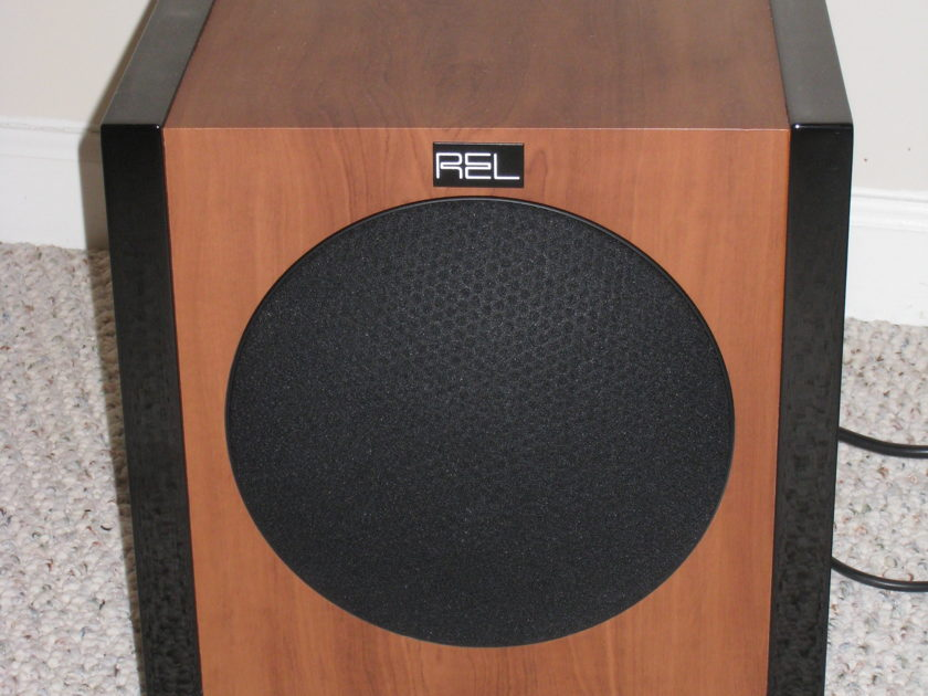 REL T-3 Cherry Subwoofer