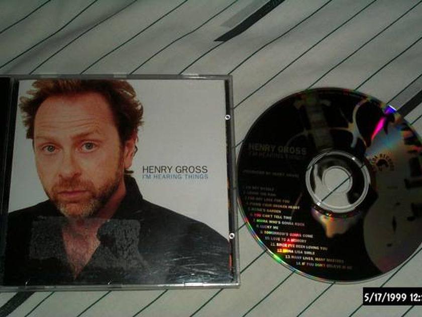 Henry gross - I'm Hearing Things cd nm
