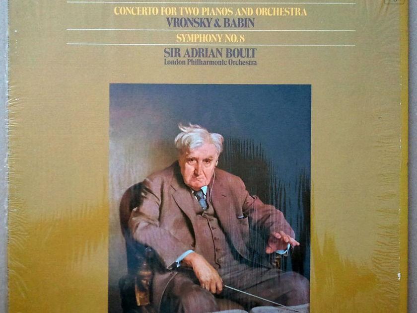 ANGEL | BOULT/VAUGHAN WILLIAMS - Symphony No.8, Concerto for 2 Pianos & Orchestra / EX
