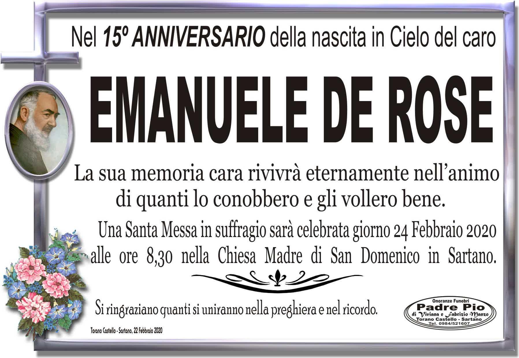 Emanuele De Rose
