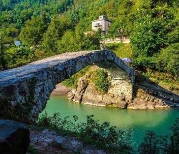 Путешествие в горную Аджарию с грузинским фольклором