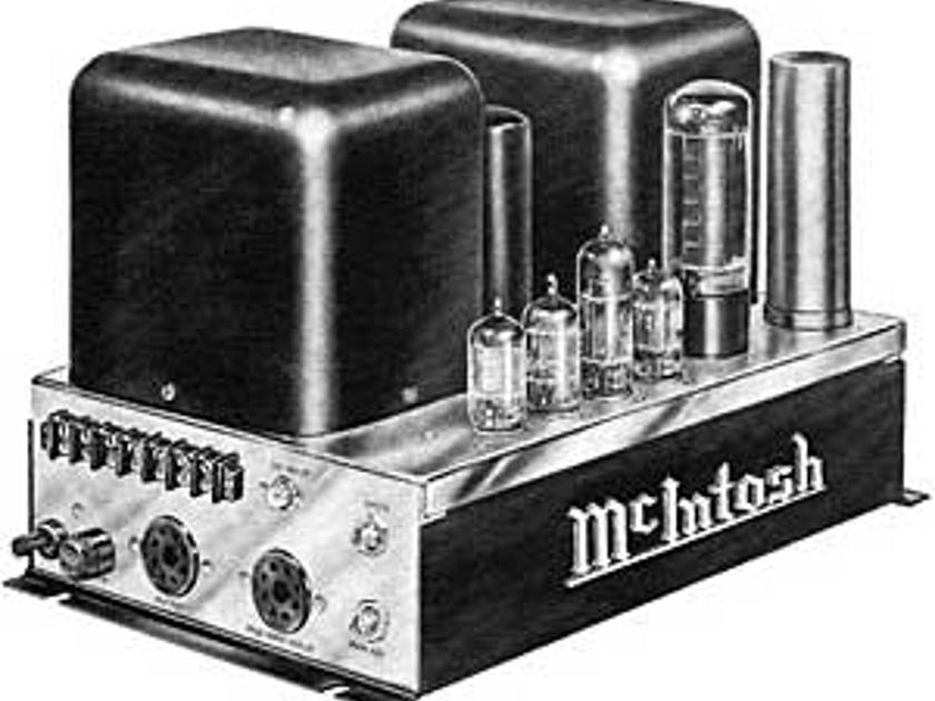 Wanted: McIntosh Tube Audio Equipment Mono or Stereo - Los Angeles area