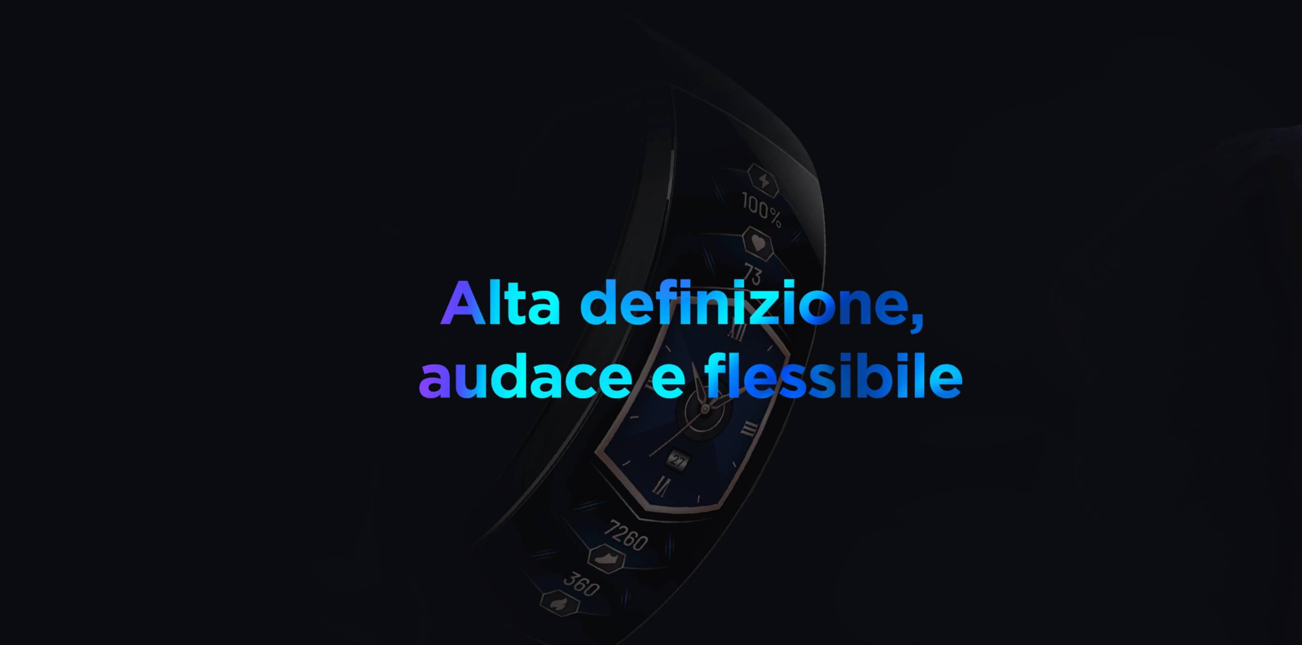 Amazfit X - Alta definizione,audace e flessibile.