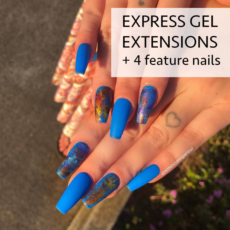 express gel nail extensions brisbane