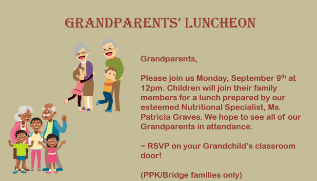 Grandparents' Day Luncheon