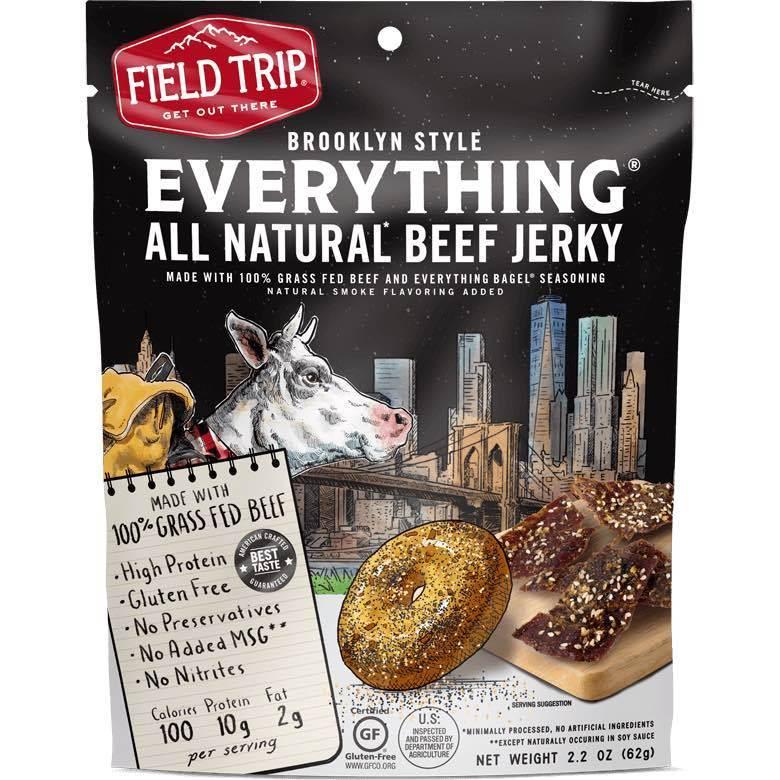 Field Trip Everything Bagel Beef Jerky Low Fat