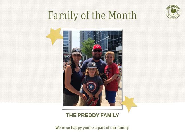 The Preddy Family