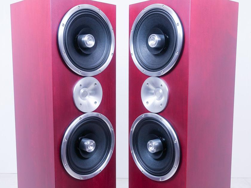 Zu Audio Omen Def MkII Speakers; Sangria Maple (8901)