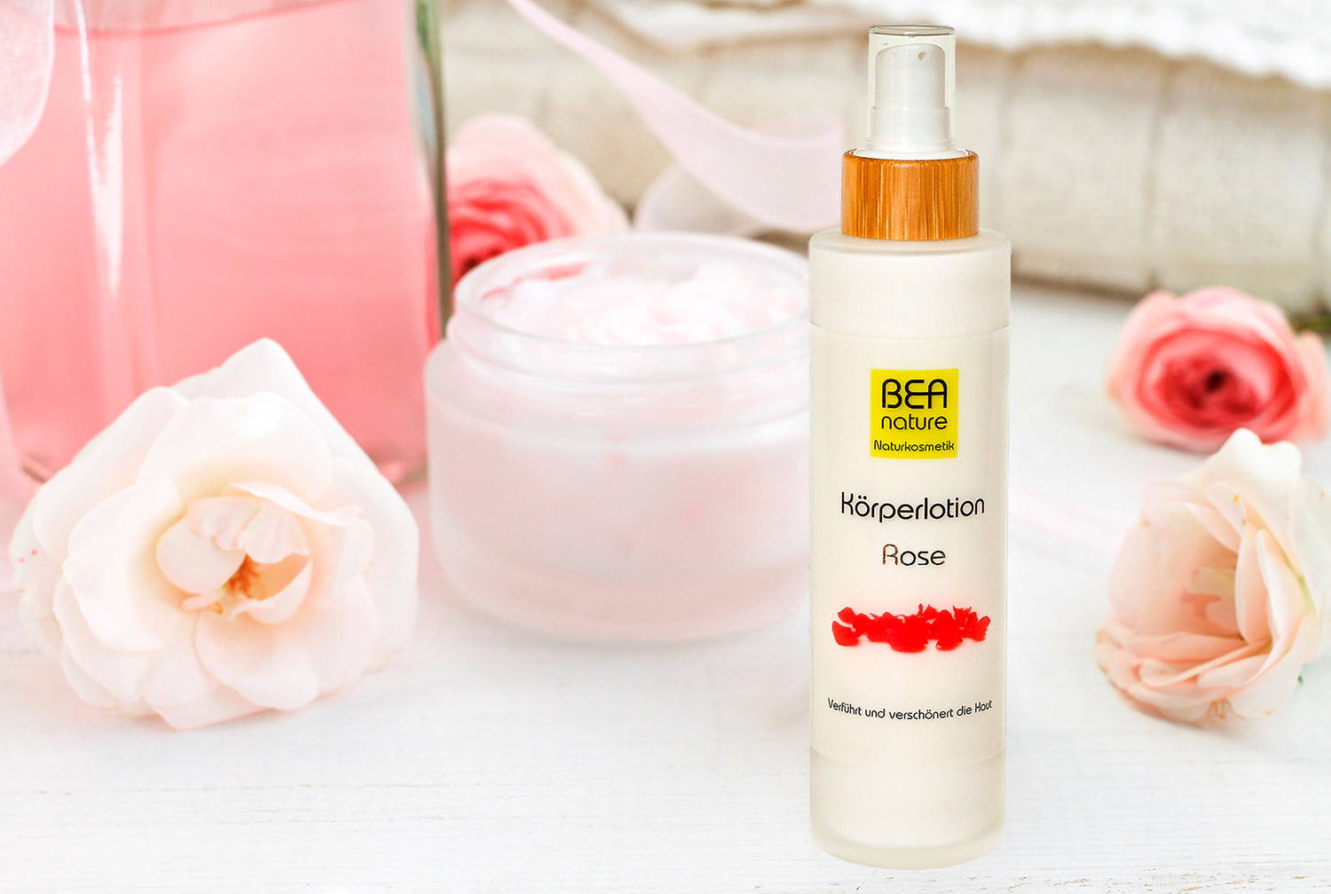 Rose Koerperlotion