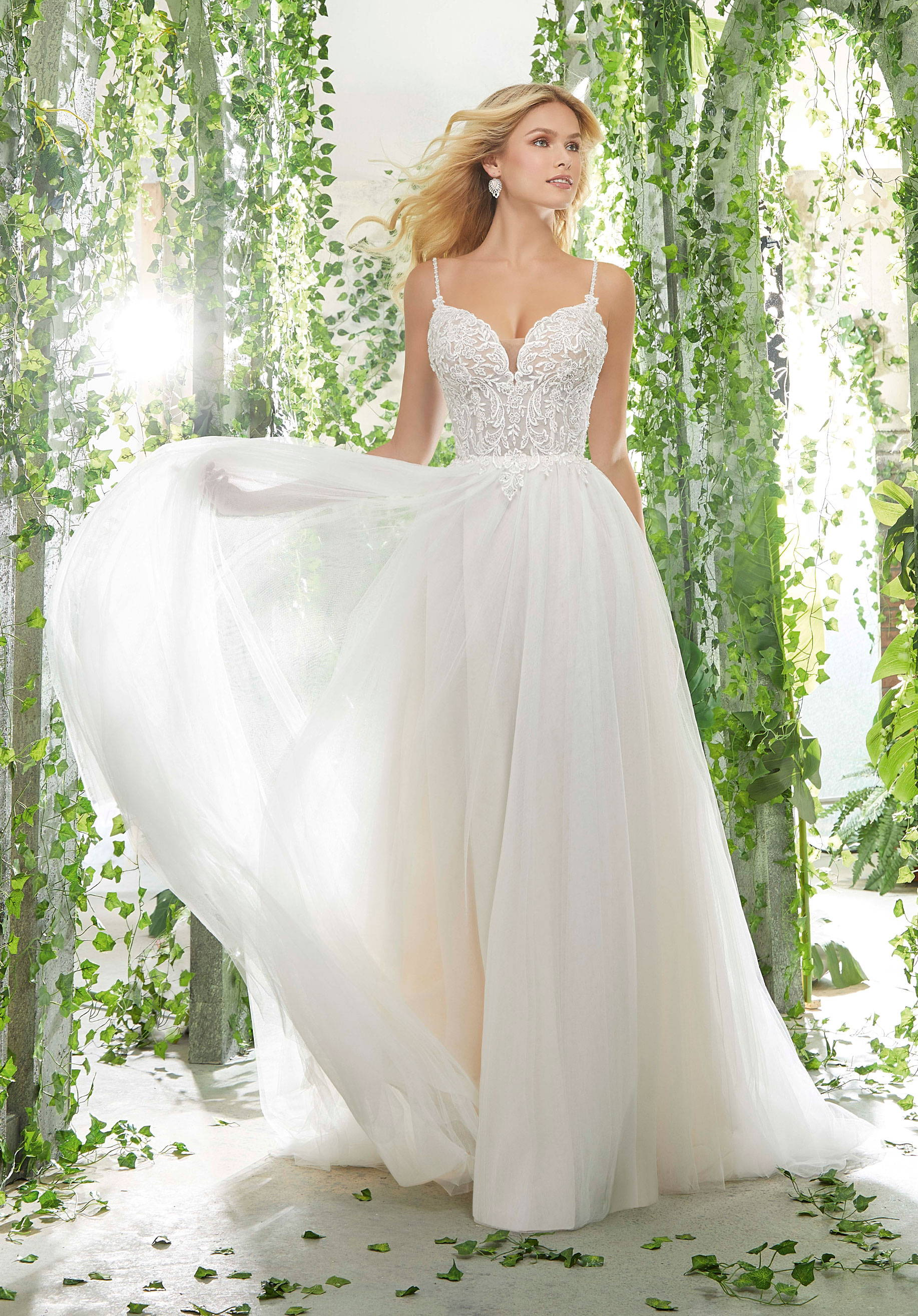 MORI LEE  6907 WEDDING DRESS DRESS