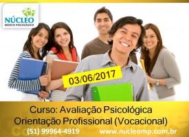 4º Curso: Avaliação Psicológica Orientação Profissional (vocacional)