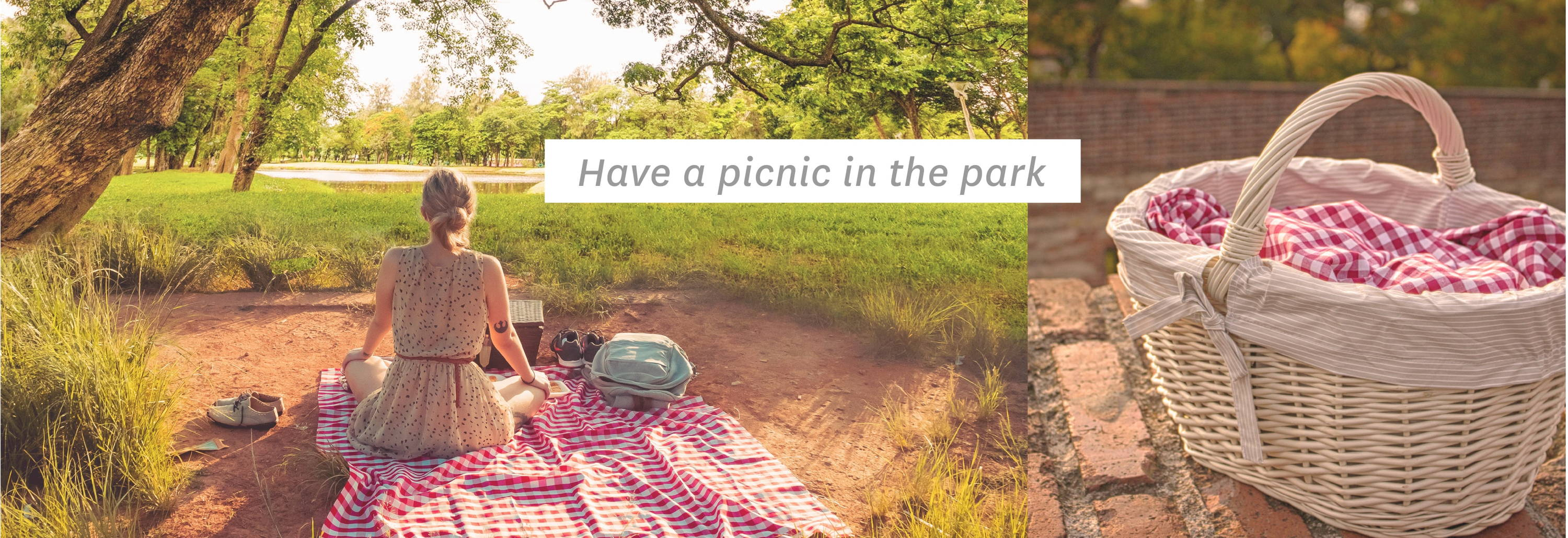 Have a picnic in the park