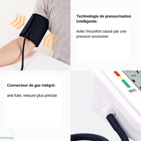 Tensiomètre écran 3 couleurs pression intelligente
