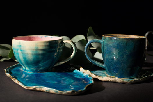 Чайная пара Синие воды