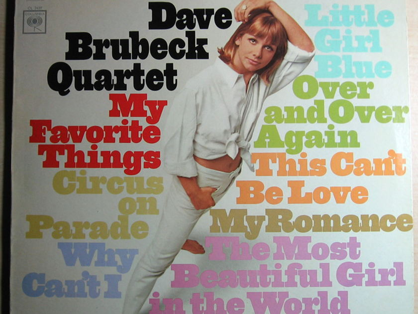 Dave Brubeck Quartet - My Favorite Things  - 1966 Columbia CS 9237