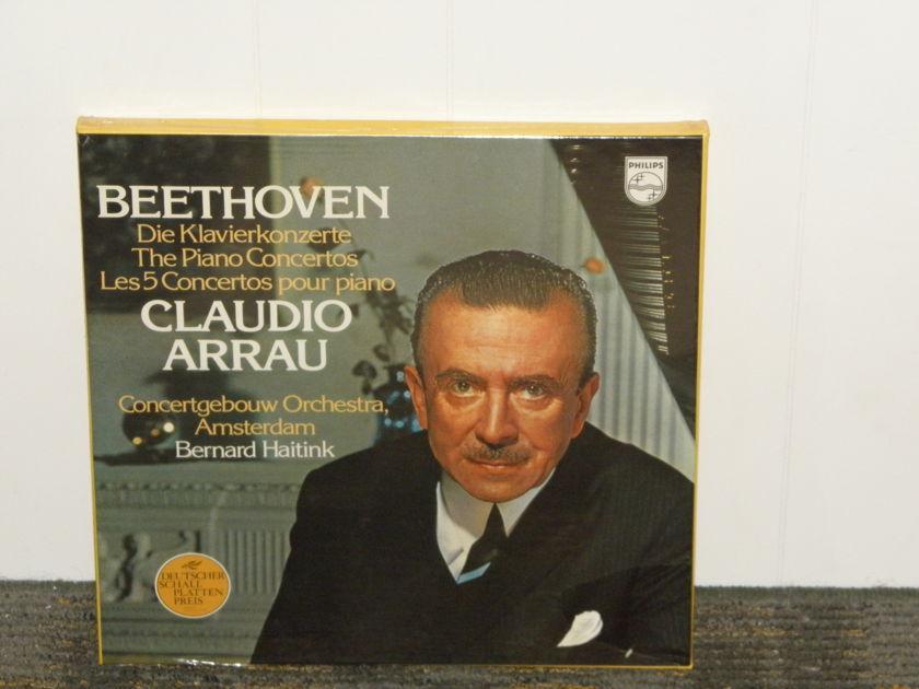 Claudio Arrau/Haitink/Concertgebouw - Beethoven  Complete Piano Sonatas Philips Import (4LP's) Pressing  6770 014 STILL SEALED/NEW